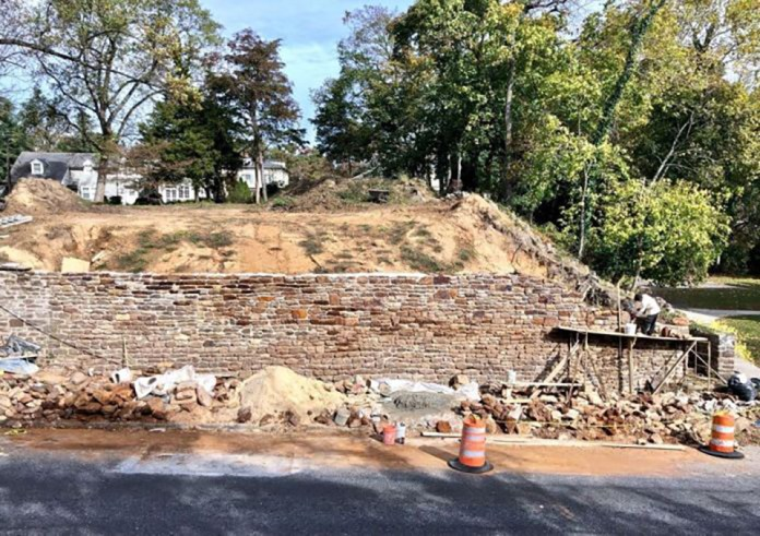 Bridgeton Residents Announce 'Fat Saturday' Fundraiser to Aid in Restoration of Historic Wall