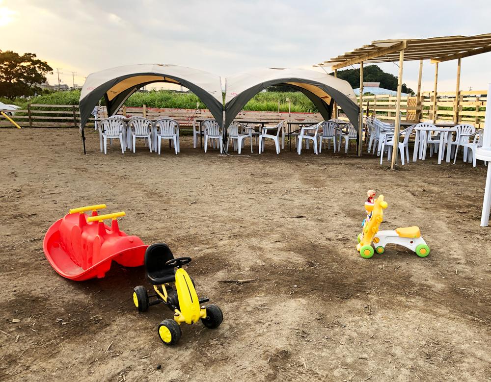 子供の遊具・ワンパーク