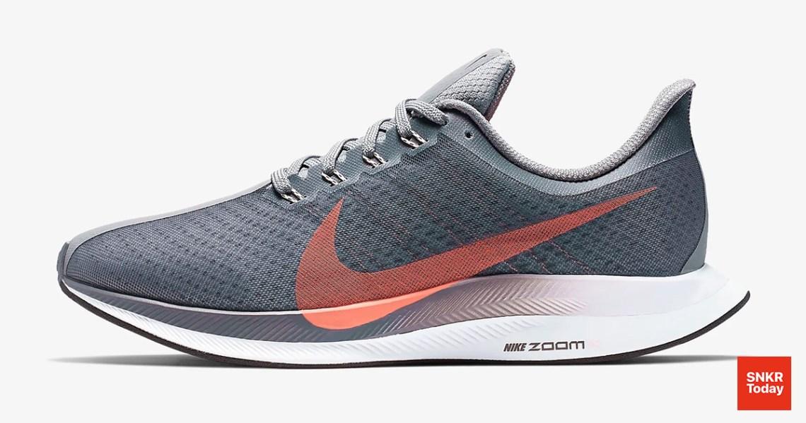 Nike Zoom Pegasus Turbo สำหรับผู้หญิง สีเทา Cool Gray
