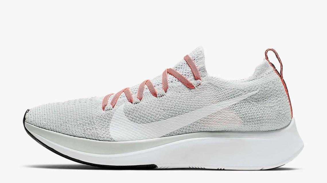 Nike Zoom Fly Flyknit สำหรับผู้หญิง สีใหม่ Pure Platinum