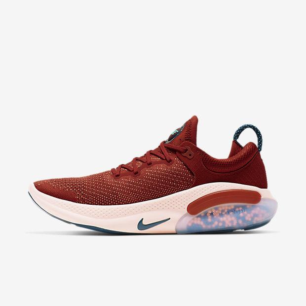 Nike Joyride Run Flyknit Cinnabar/Crimson Tint/Aurora/Blue Force