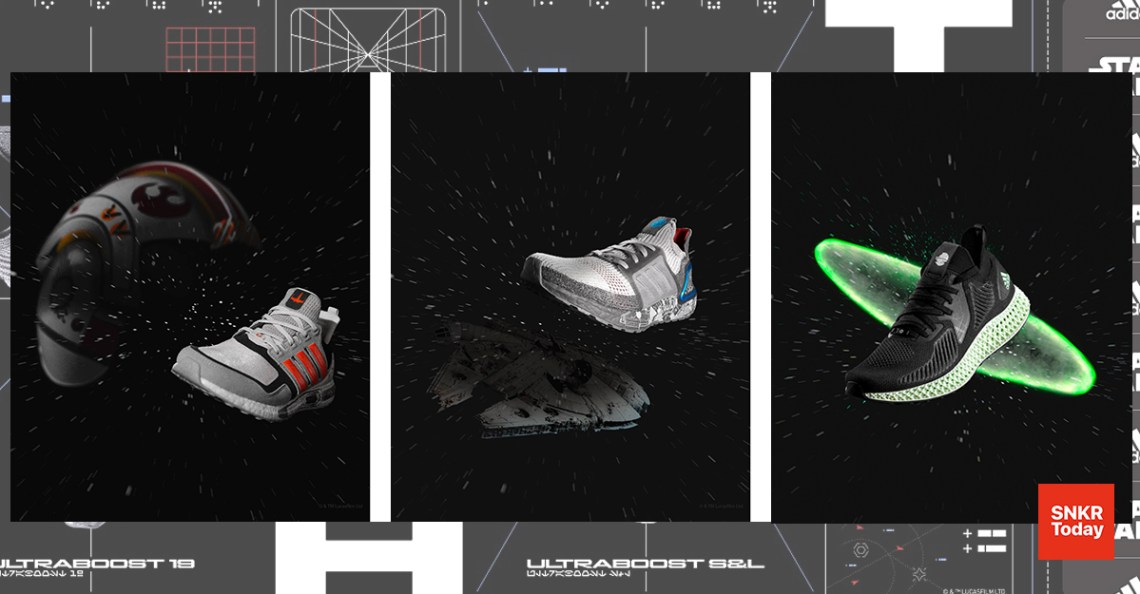 adidas x Star Wars Space Battle-Themed Pack