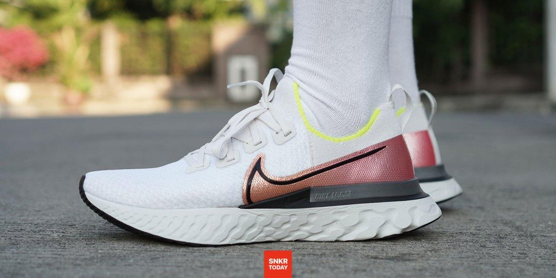 รีวิว รองเท้าวิ่ง Nike React Infinity Run