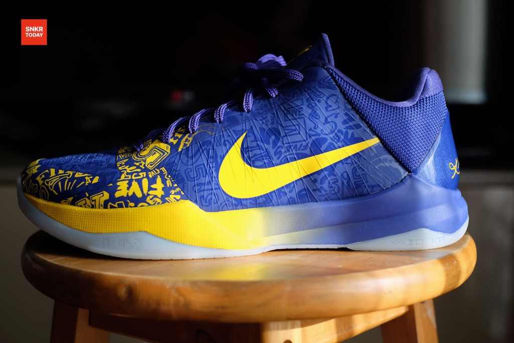 """รีวิว Nike Kobe V Protro """"5 Rings"""" (Performance Review)"""