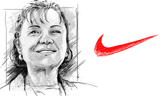 What you should know about the swoosh mark on the Nike logo
