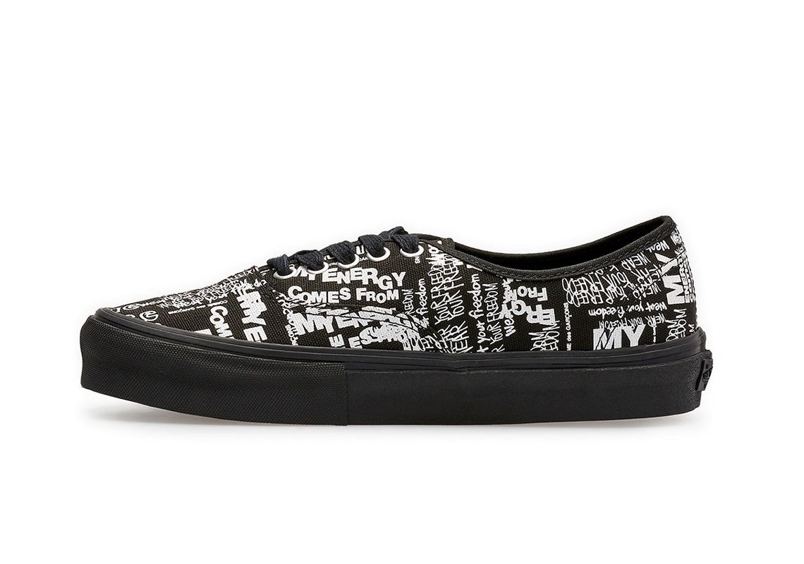 """CDG x Vans """"draw charms"""" A new collab conveys a positive message"""