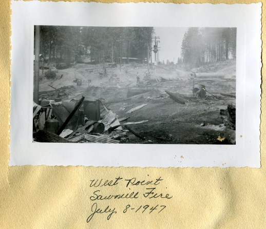 West Point Mill burned