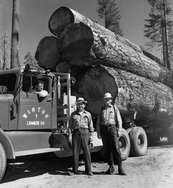 1 Winton Log Truck