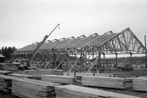 Construcion at the mill
