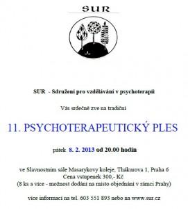 11. psychoterapeutický ples