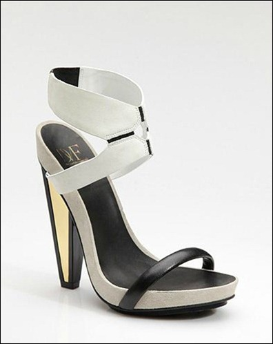 DVF - Venus two-tone sandals
