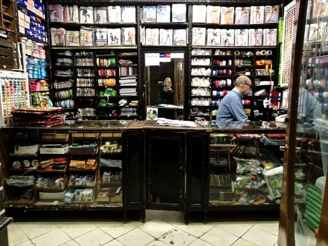 Typical Spanish haberdashery in Cordoba. Photo © Karethe Linaae