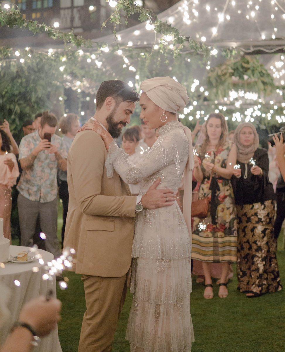 Yuna Zarai Channels Goddess Vibes In Her Malaysian Garden Wedding