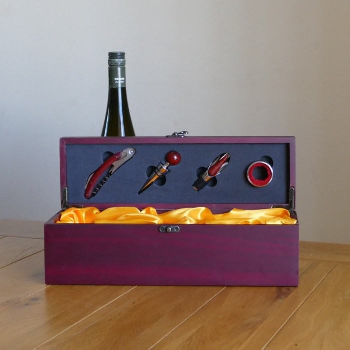 Personalised wine box