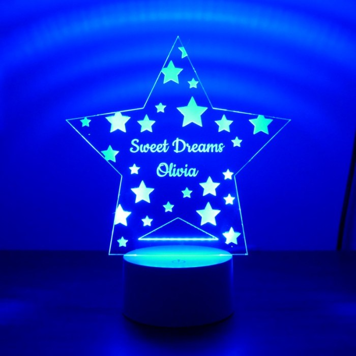 Childrens Star Night Light