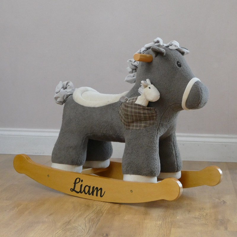Personalised Children's Rocking Horse