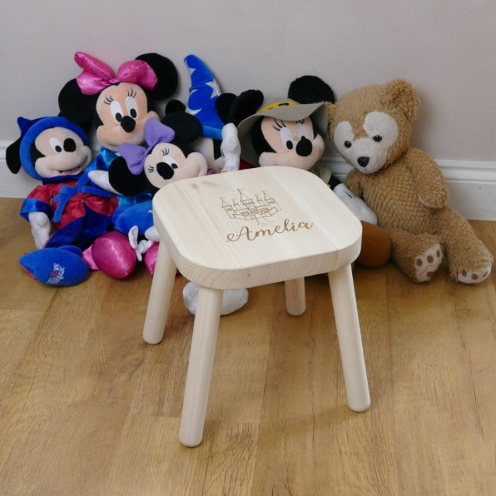 Personalised Childrens Stool for toddlers