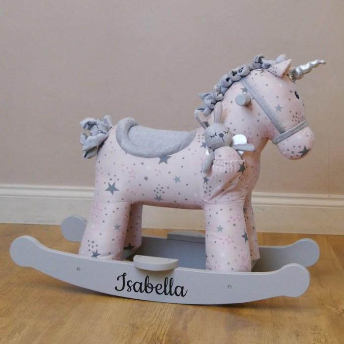 Personalised Unicorn Rocking Horse