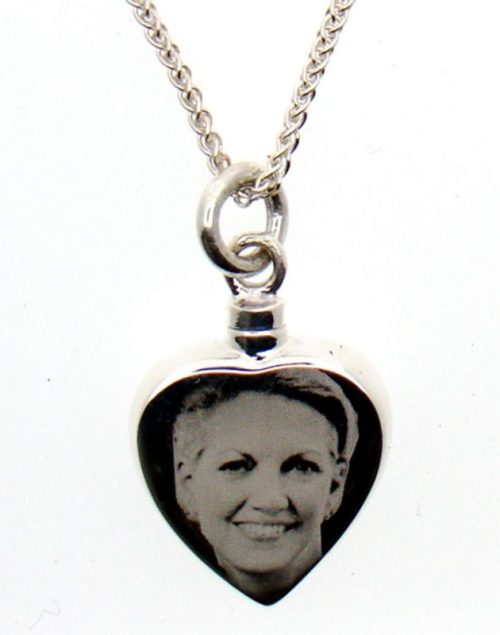 Photo Cremation Necklace