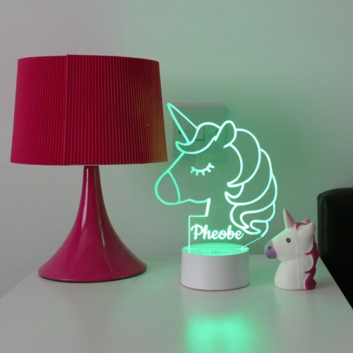 Childs personalised night light