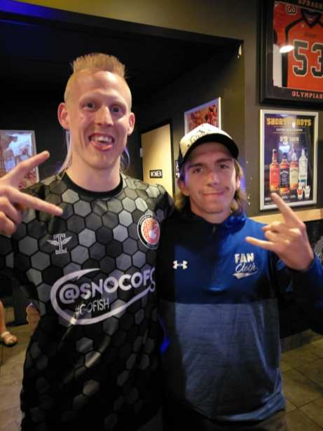 Moseley makes a fan in Oregon.
