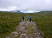 Hiking a part of Kungsleden in August