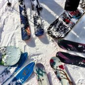Skidor!