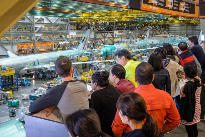 Future of Flight Boeing Tour