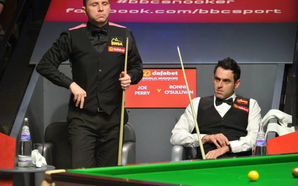 Masters Final: Ronnie O'Sullivan vs Joe Perry - SnookerHQ