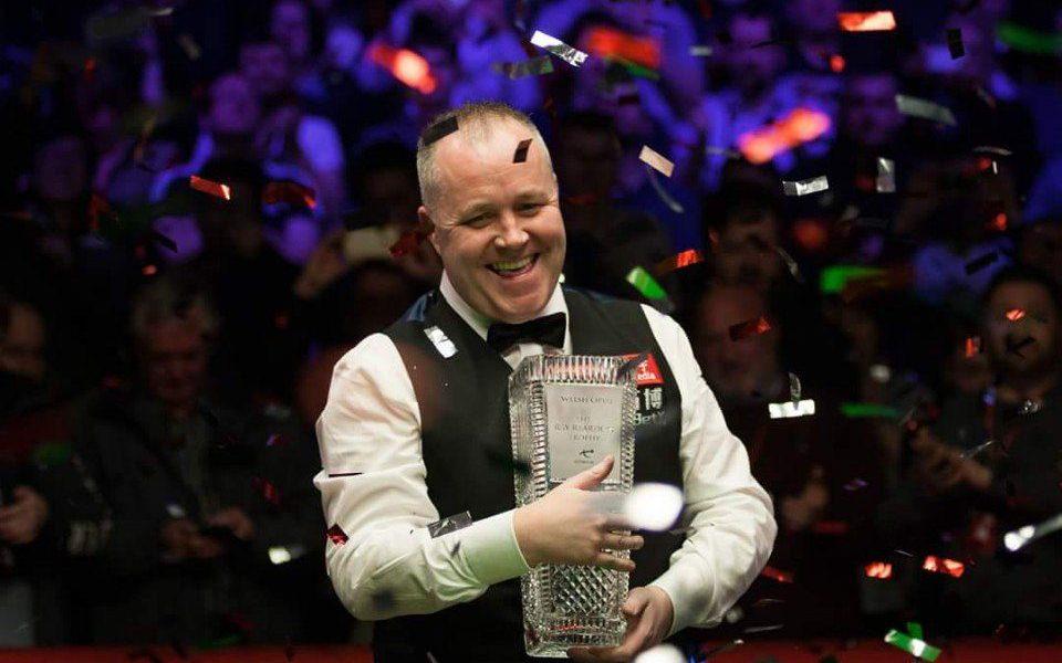 John Higgins Wins Record Fifth Welsh Open