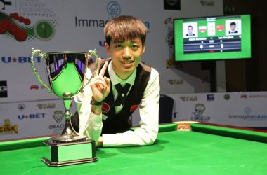 Luo Honghao Wins WSF Championship