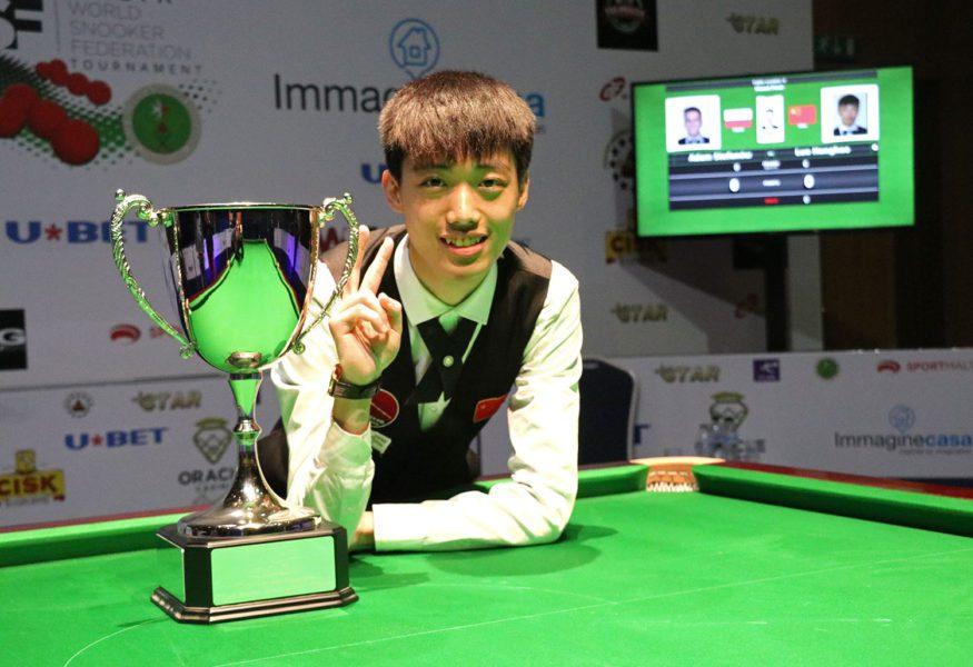 Luo Honghao Wins WSF Championship