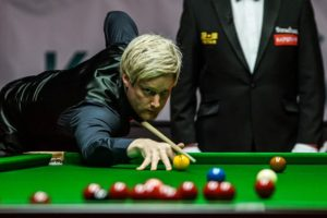 Centuries Man Neil Robertson to Rumble Record?