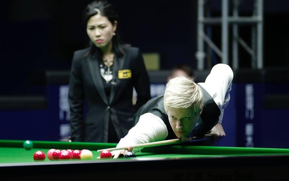 Snooker in July