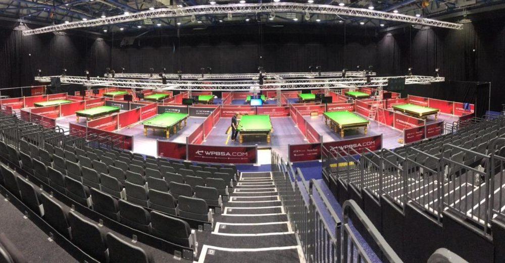 World Snooker Championship qualifying draw