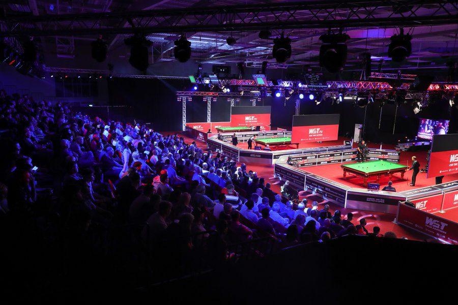 British Open quarter-finals