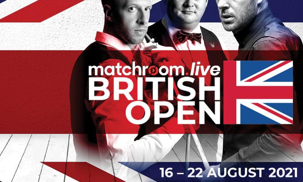 British Open draw