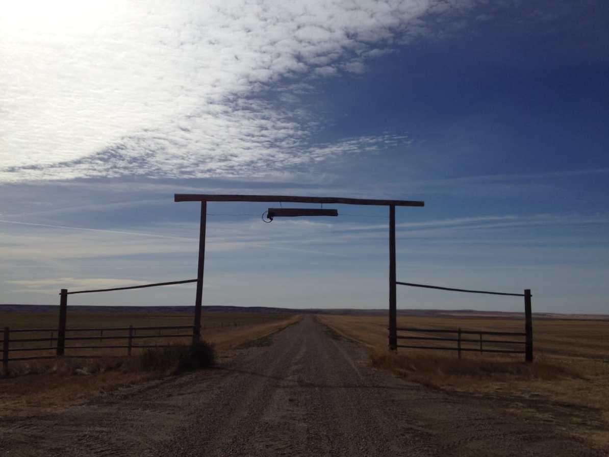 Entry to La Reata Ranch