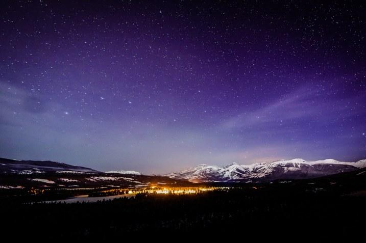 Dark Sky - Jasper National Park, von Tourism Japser zur Verfügung gestellt