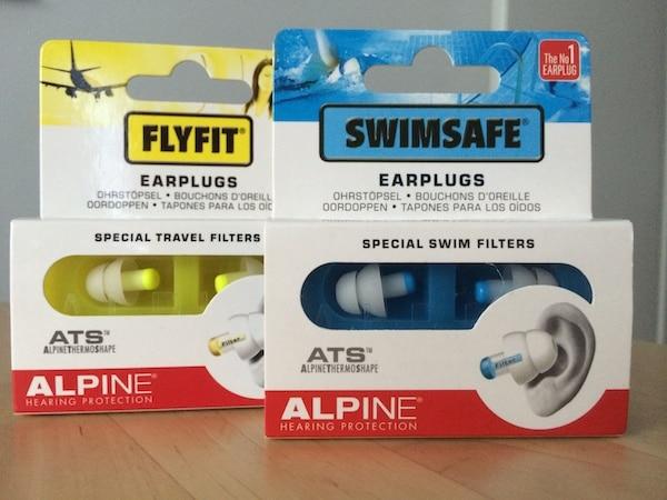 FlyFit und SwimSafe von Alpine Hearing Protection