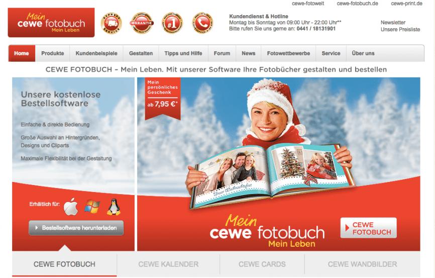 CEWE Fotobuch Softwaredownload