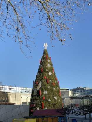 Dortmunder Weihnachtsstadt 2019 auf dem Hanseplatz.
