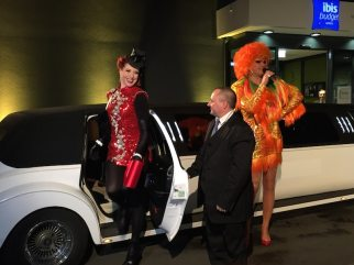 Olivia Jones & Eve Champagne, ibis Hamburg City