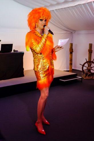 Olivia Jones bei der ibis Eröffnungsfeier, Foto: Indeed Photography (Simon Bierwald)