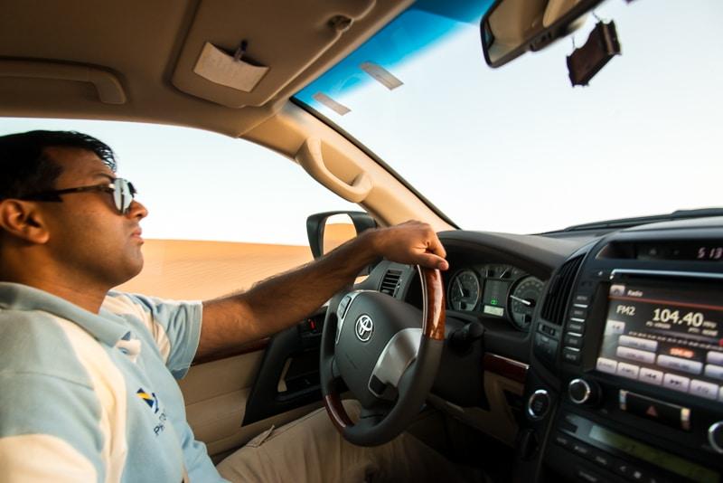 Fahrer von Alpha Tours, Foto: SImon Bierwald (Indeed Photography)