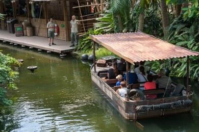 Flussfahrt im Godwanaland