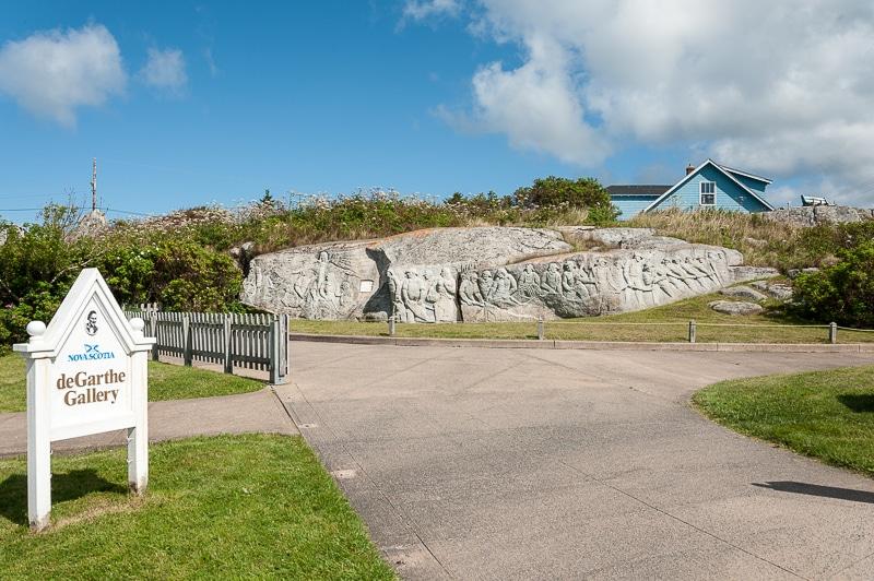 Fishermen's Monument, deGarthe Gallery