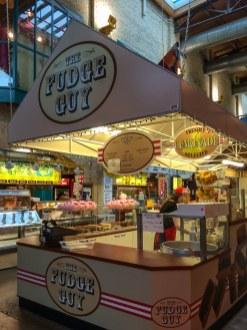 Stand des Fudge Guys im Forks Market