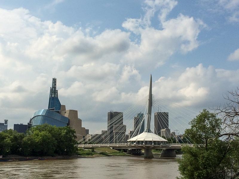 Skyline von Winnipeg