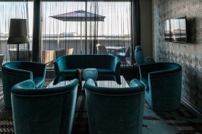 In der Business Lounge, Falkensteiner Hotel, Belgrad